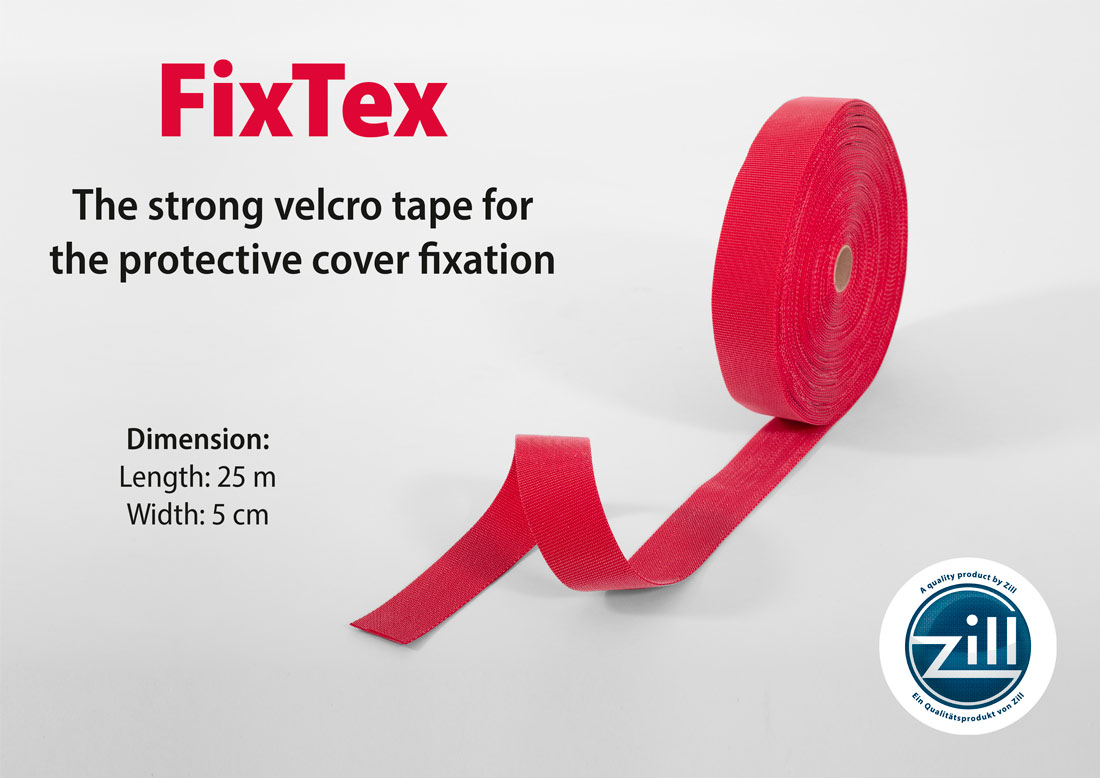 Zill FixTex – the strong velcro tape