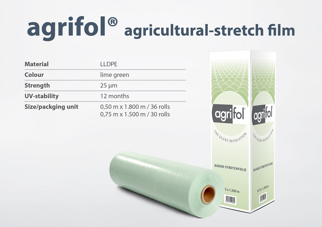 Zill agricultural stretch film agrifol specifications