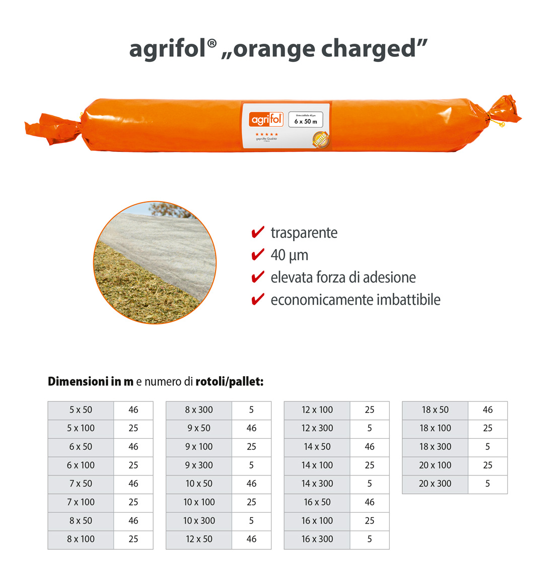 Zill Pellicola effetto vacuum agrifol orange charged